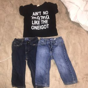 Jeans and T-shirt lot
